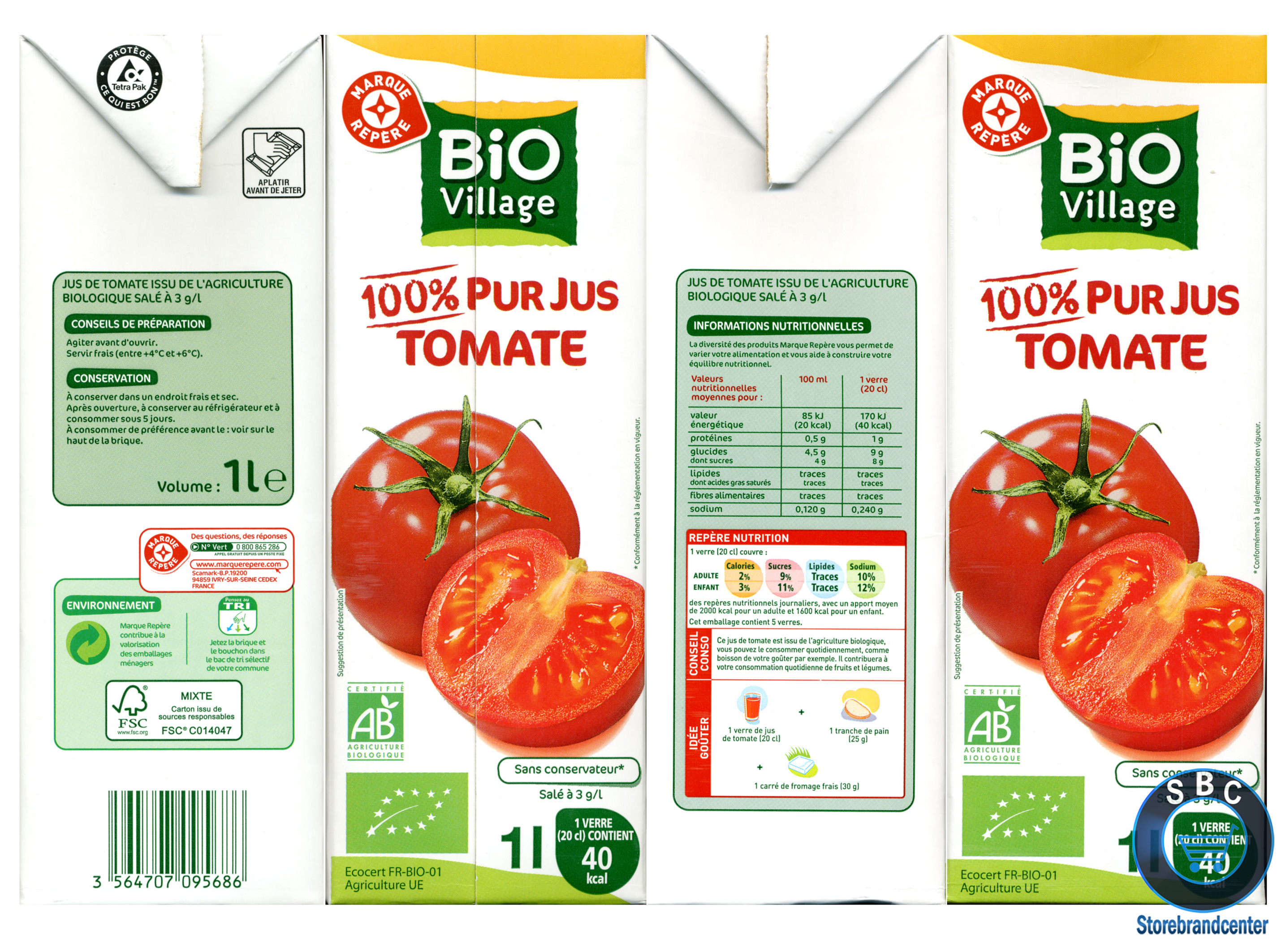 Jus de tomate MDD