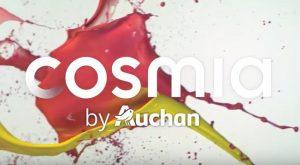 Spot publicitaire Cosmia mdd auchan mis en ligne 28 févr. 2017 sur la chaine youtube de Auchan (à mettre en HD)