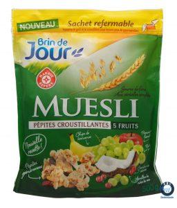 new packaging cereale brin de jour mdd e.leclerc marque de distributeur