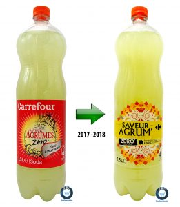 marque de distributeur; carrefour, private label, storebrandcenter.com, new, packaging, MDD, soda, BNA, BRSA, sans alcool, zero
